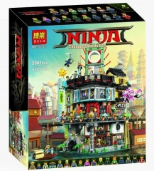 Конструктор Ниндзяго Сити / Ниндзя Го 5041 деталь (NinjaGo Movie 10727)