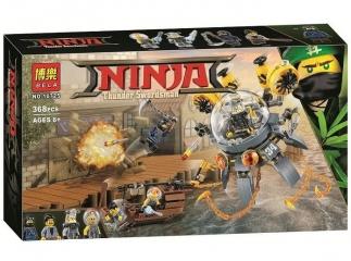 Конструктор  НиндзяГо летающая подводная лодка 68 деталей BELA NinjaGo Movie 10725