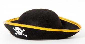 Пиратская Шляпа с золотом