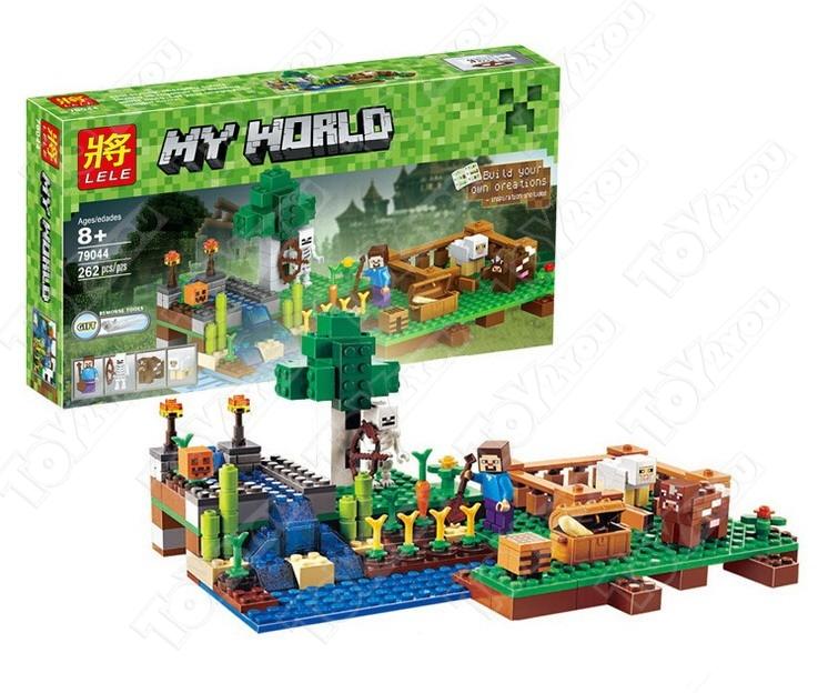 Конструктор MY World Ферма Майнкрафт 21114 BELA 10175 (262 детали)