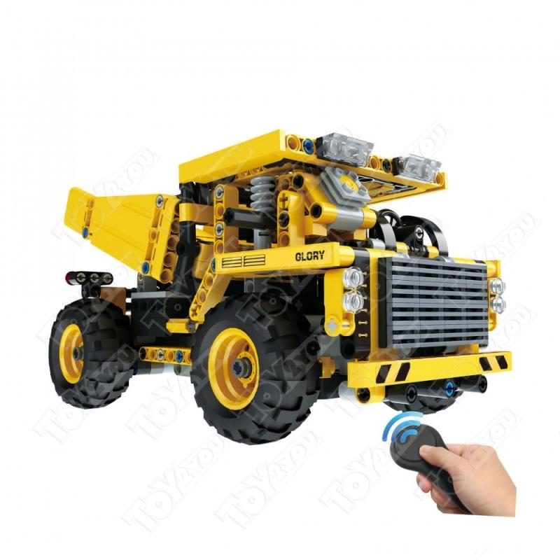 Конструктор Техникс Карьерный грузовик 42035 Mould King 13016 (488 деталей) с ПДУ