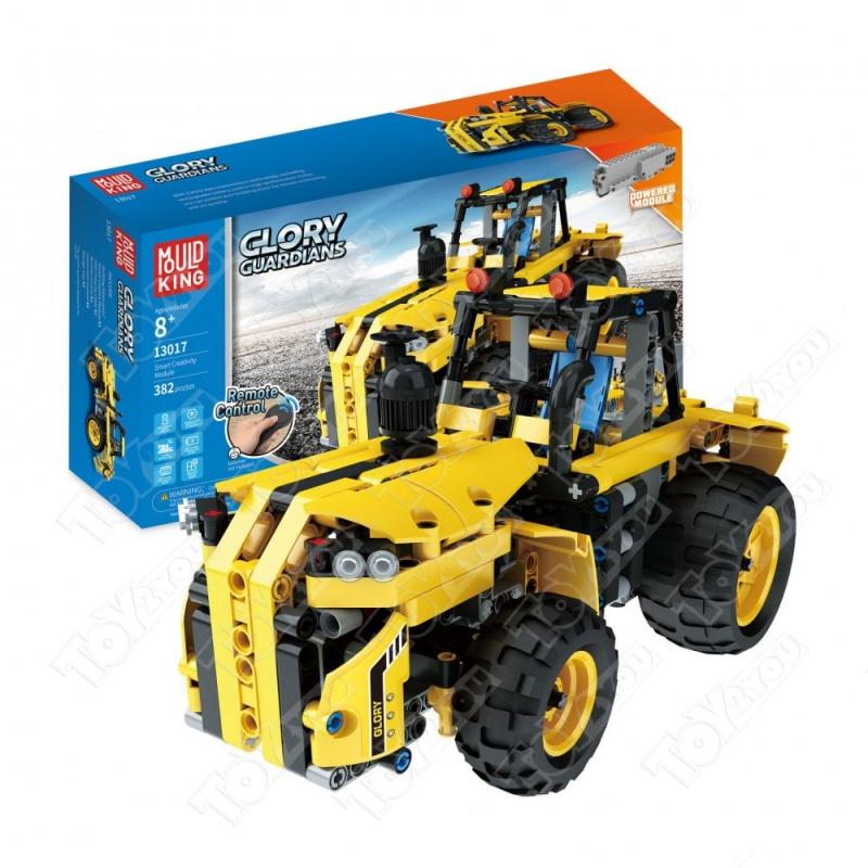 Конструктор Техникс Трактор Mould King 13017 (382 деталей) с ПДУ