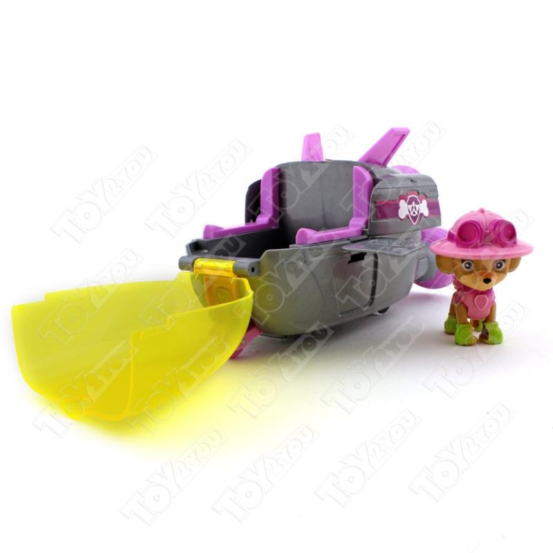 Набор игрушек Щенячий патруль - 8 героев с большими машинками + Офис
