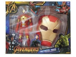 Игрушка Железный Человек и маска (Мстители)