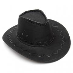 Шляпа Ковбоя черная