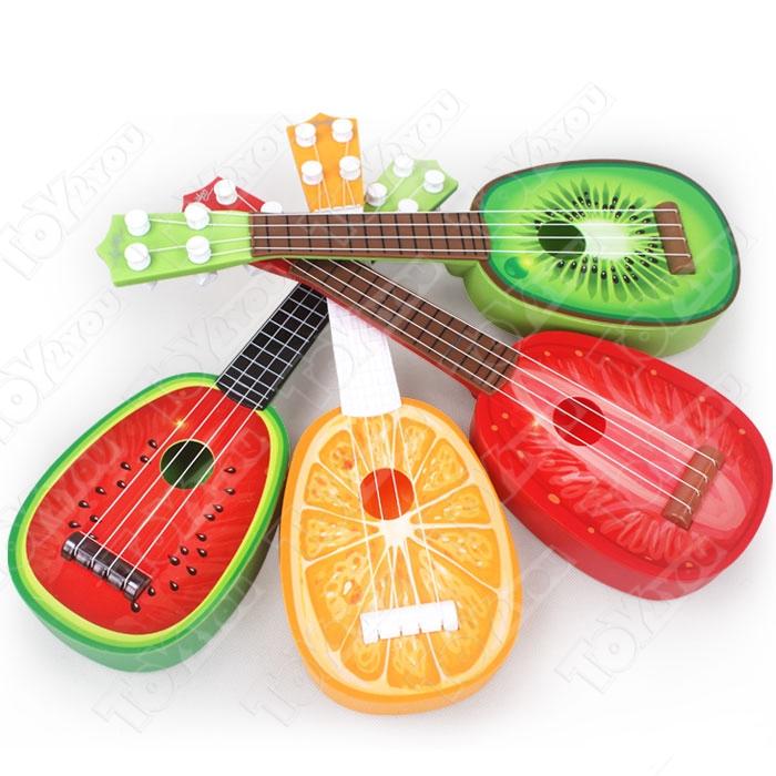 """Детская гавайская гитара укулеле """"Арбуз"""""""