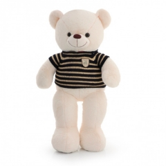 Мягкая игрушка Большой белый Медведь в свитере 100 см