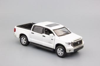 Модель автомобиля Toyota Tundra, 160х60мм, белый TT.w