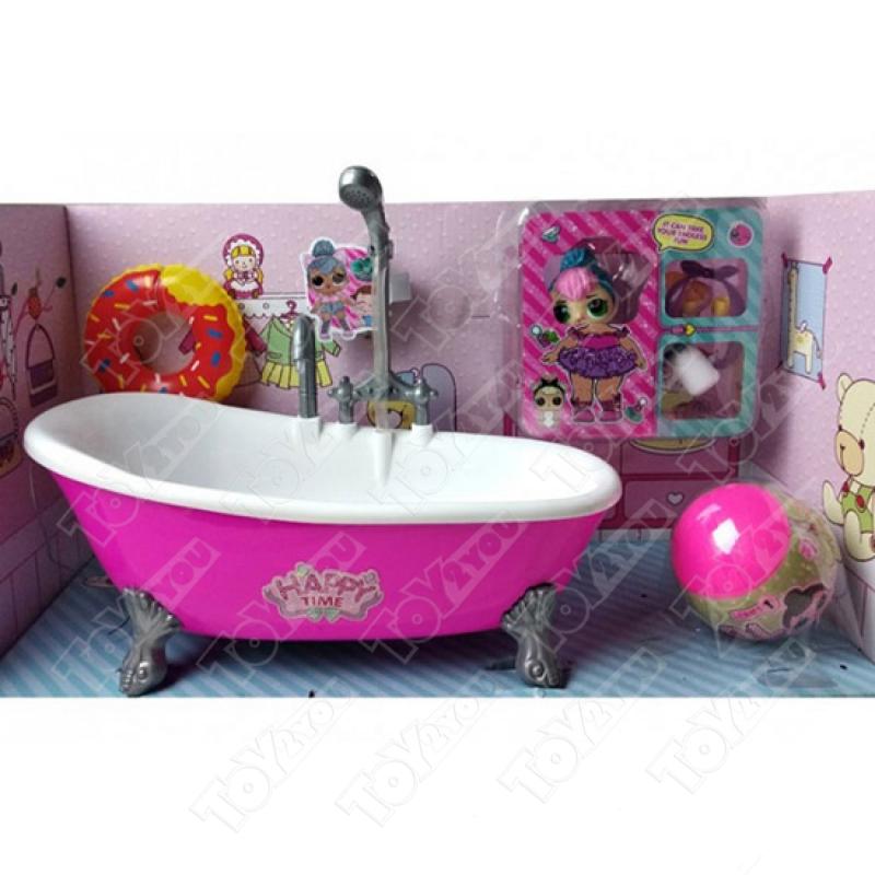 Ванна для куклы ЛОЛ с душем (L.O.L. Series)