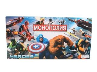 Мстители супергерои Монополия торговля недвижимостью