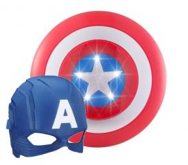 Набор щит и маска Капитан Америка